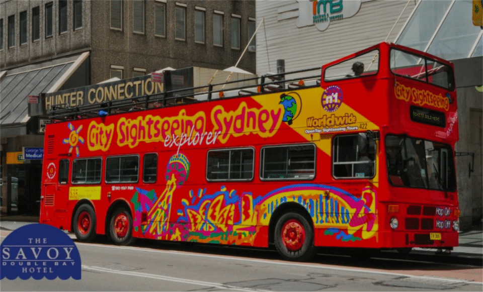 Buses Transport Double Bay Sydney - The Savoy Hotel
