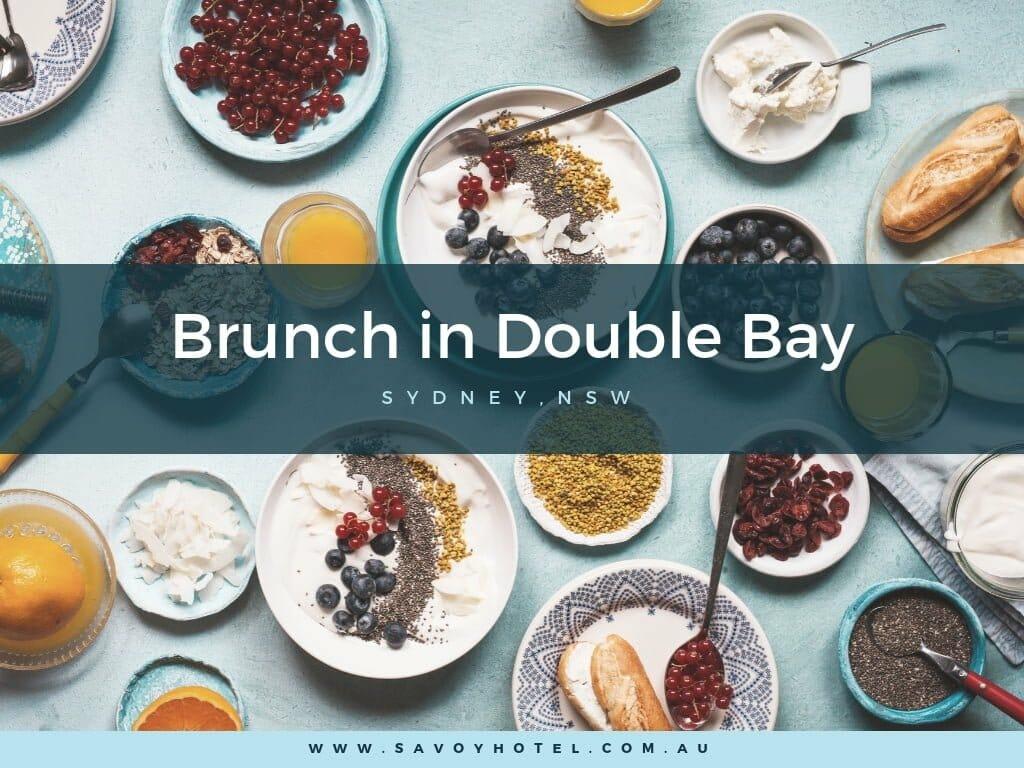 Brunch in Double Bay
