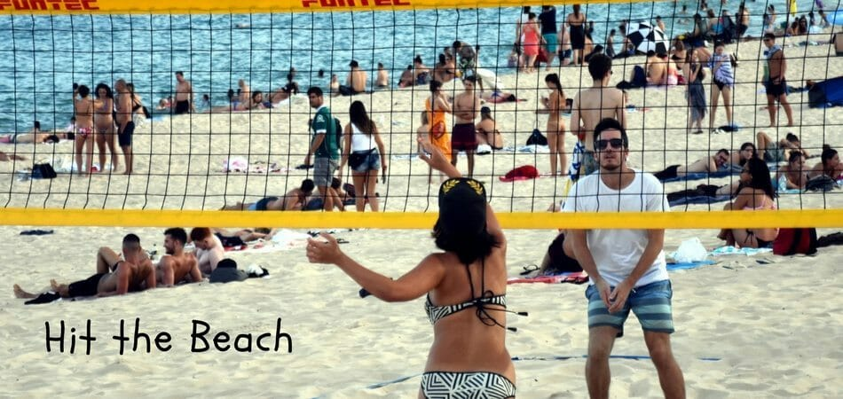 Hit-the-beach