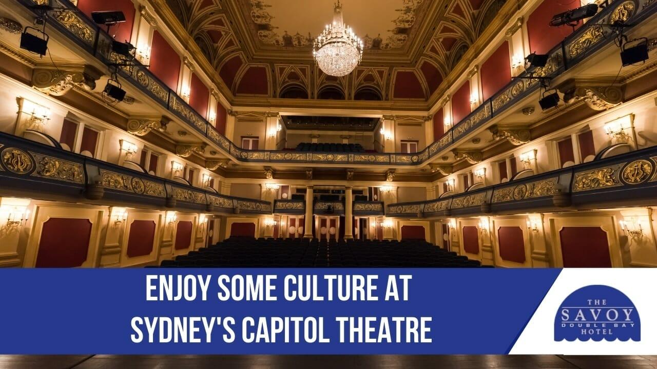 Sydneys Capitol Theatre