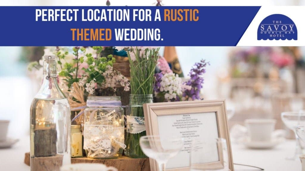 perfect location for a rustic themed wedding.