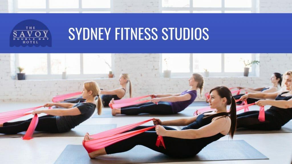 sydney fitness studios