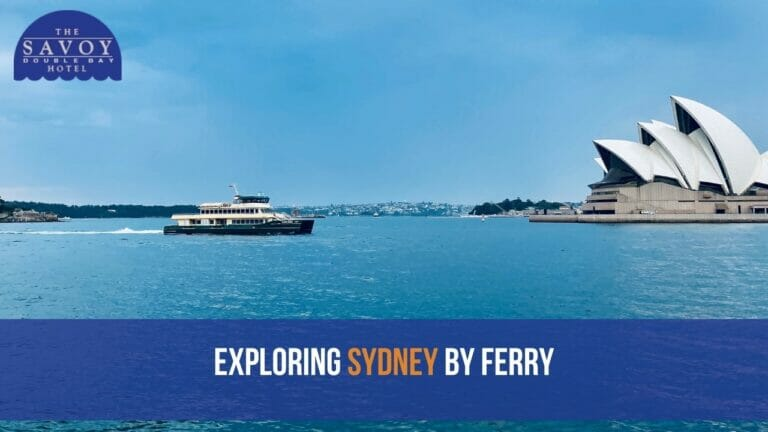 Exploring Sydney by Ferry