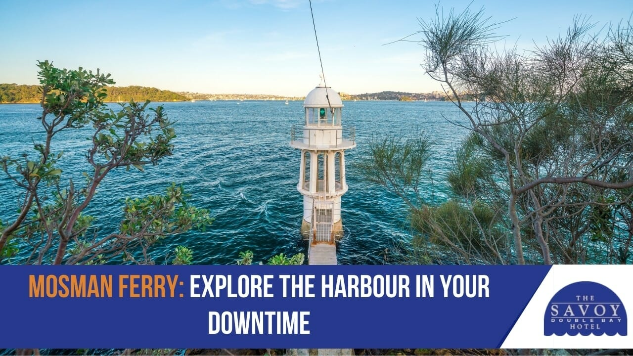 Mosman Ferry- Explore the Harbour in Your Downtime
