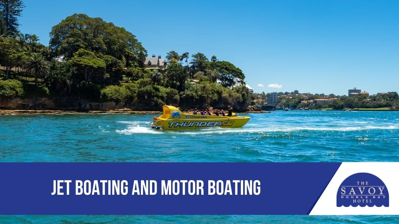 Jet Boating and Motor Boating