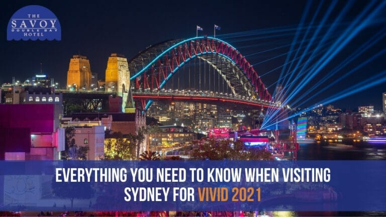 Everything you need to know when visiting Sydney for Vivid 2021