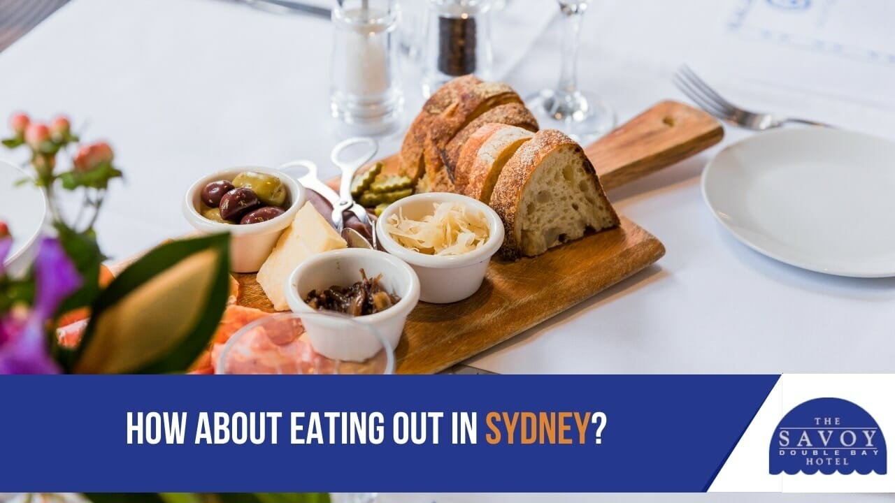 How about eating out in Sydney?
